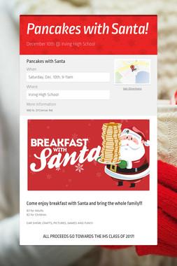 Pancakes with Santa!