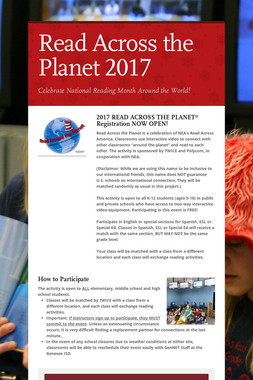Read Across the Planet 2017