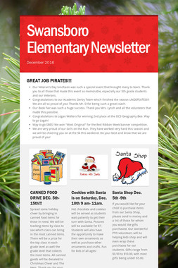 Swansboro Elementary Newsletter