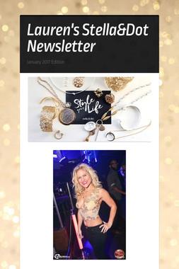 Lauren's Stella&Dot Newsletter