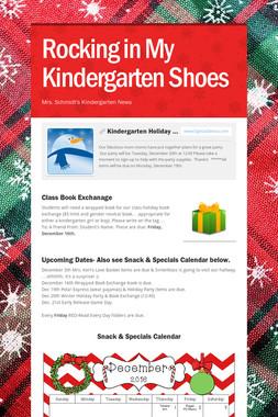Rocking in My Kindergarten Shoes