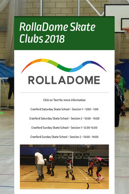 RollaDome Skate Clubs 2017