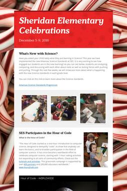 Sheridan Elementary Celebrations