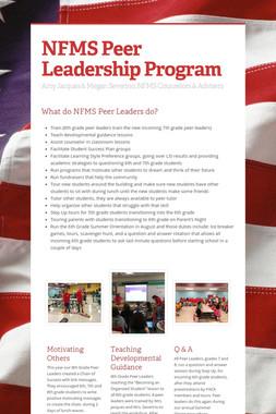 NFMS Peer Leadership Program