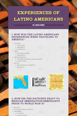 Experiences of Latino Americans