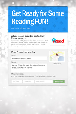 Get Ready for Some Reading FUN!