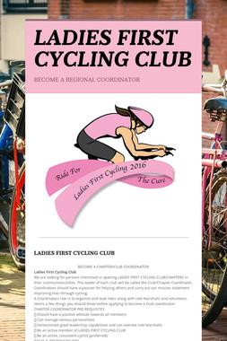 LADIES FIRST CYCLING CLUB