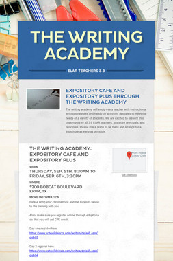 The Writing Academy