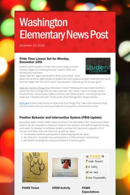 Washington Elementary News Post