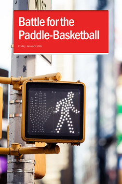 Battle for the Paddle-Basketball