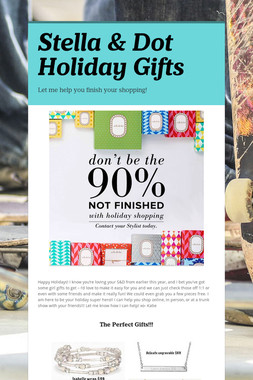 Stella & Dot Holiday Gifts