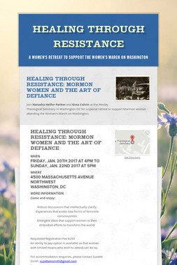Healing Through Resistance