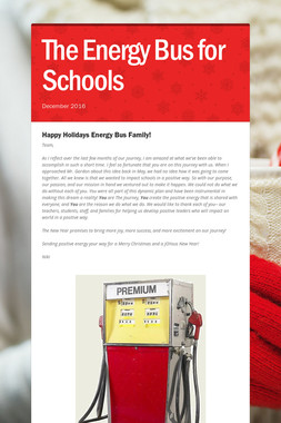 The Energy Bus for Schools