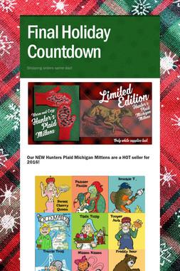 Final Holiday Countdown
