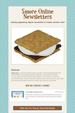 Smore Online Newsletters