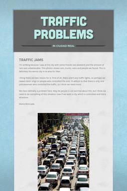 Traffic problems