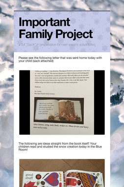 Important Family Project