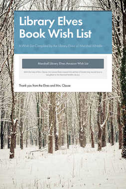 Library Elves Book Wish List