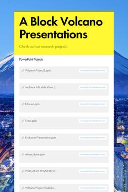 A Block Volcano Presentations