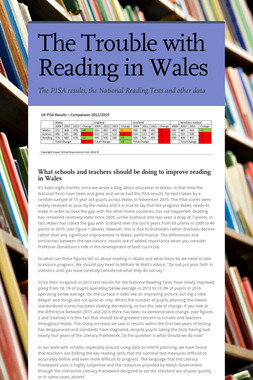 The Trouble with Reading in Wales