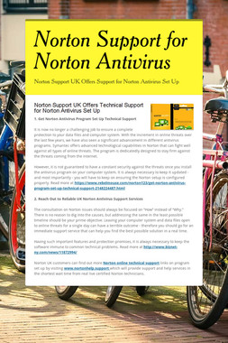 Norton Support for Norton Antivirus