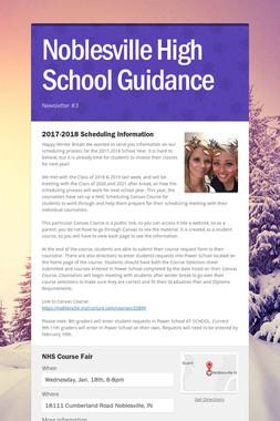 Noblesville High School Guidance