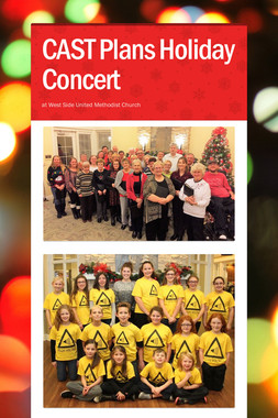 CAST Plans Holiday Concert