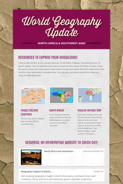 World Geography Update