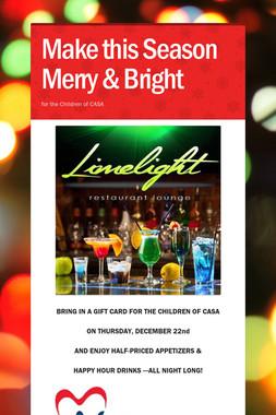 Make this Season Merry & Bright