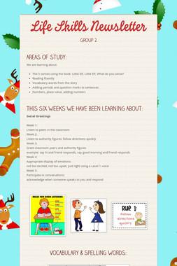 Life Skills Newsletter
