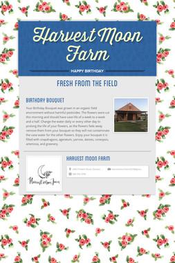 Harvest Moon Farm