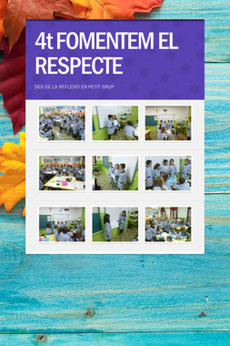 4t FOMENTEM EL RESPECTE