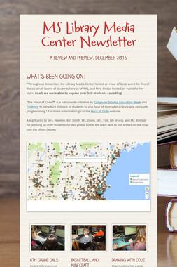 MS Library Media Center Newsletter