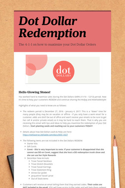 Dot Dollar Redemption