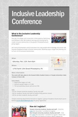 Inclusive Leadership Conference