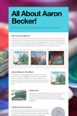 All About Aaron Becker!