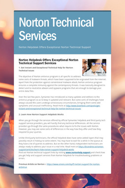 Norton Technical Services