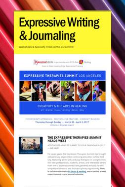 Expressive Writing & Journaling