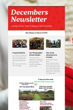 Decembers Newsletter
