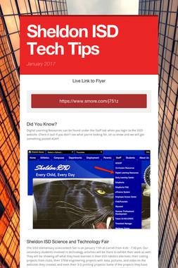 Sheldon ISD Tech Tips