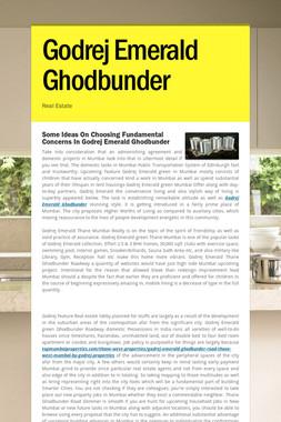 Godrej Emerald Ghodbunder