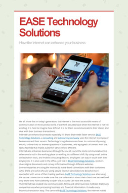 EASE Technology Solutions