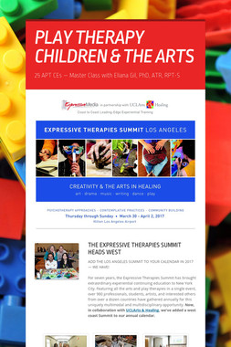 PLAY THERAPY CHILDREN & THE ARTS