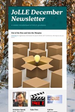 JoLLE December Newsletter