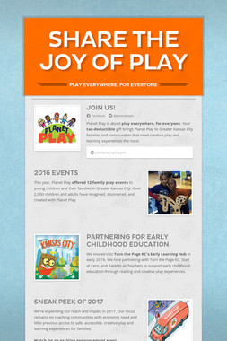 Share the Joy of Play