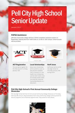 Pell City High School Senior Update