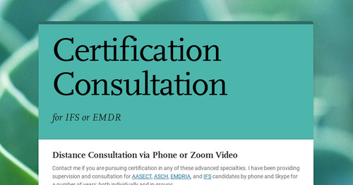 Certification Consultation | Smore Newsletters for Business