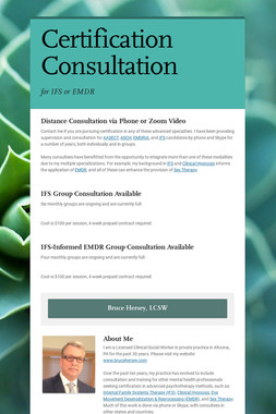Certification Consultation
