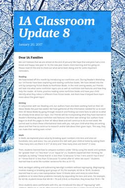 1A Classroom Update 8