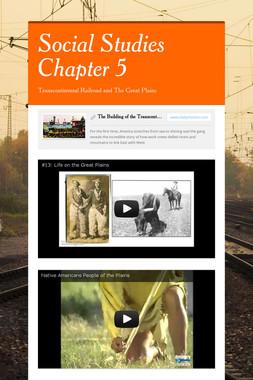 Social Studies Chapter 5